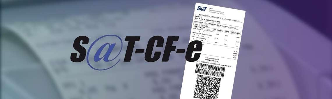 Sistema Emissor de Cupom Fiscal Eletrônico (CF-e SAT)