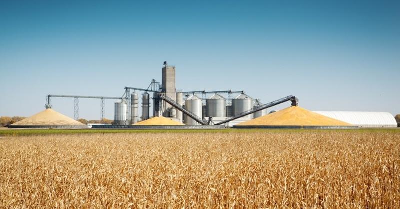 silos de grãos